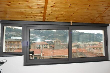 Finestre in alluminio officine bacigalupi srl - Dimensioni finestre scorrevoli ...